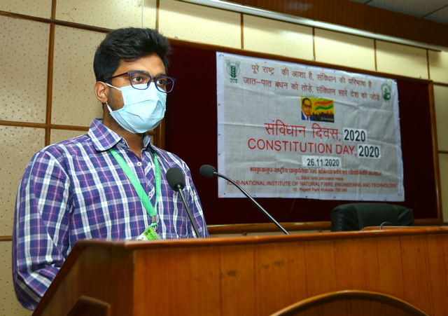 Welcome address by Dr. R.K. Ghosh