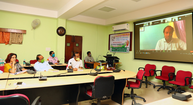 Lecture delivered by Chief Guest-ICAR-NINFET Kolkata2