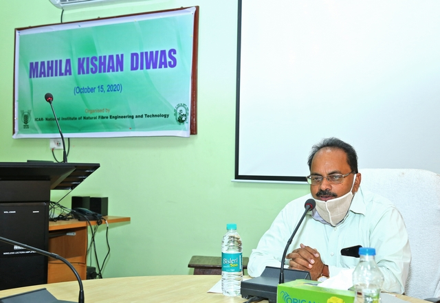 Welcome address by Director_ Mahila Kishan Diwas